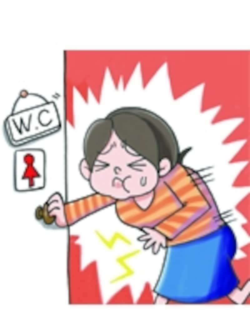膀胱炎になると頻尿になり、トイレに行く回数が増えることも……