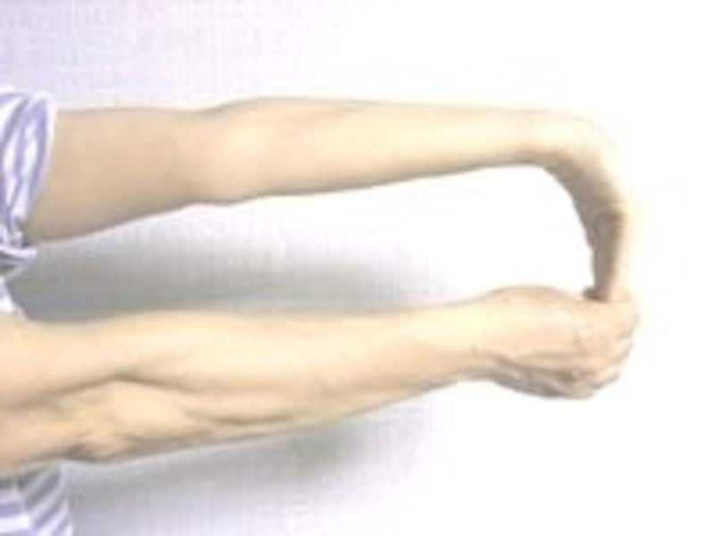 3.同様に左手首も行います