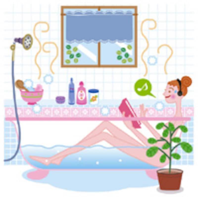 入浴で肩こりが緩和する?