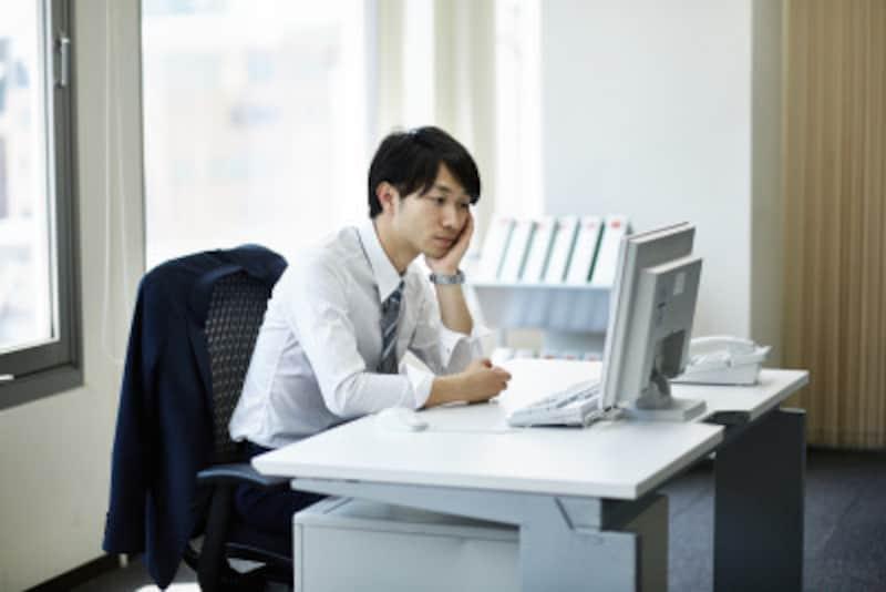 パソコンの姿勢をチェック!肩こり・パソコン