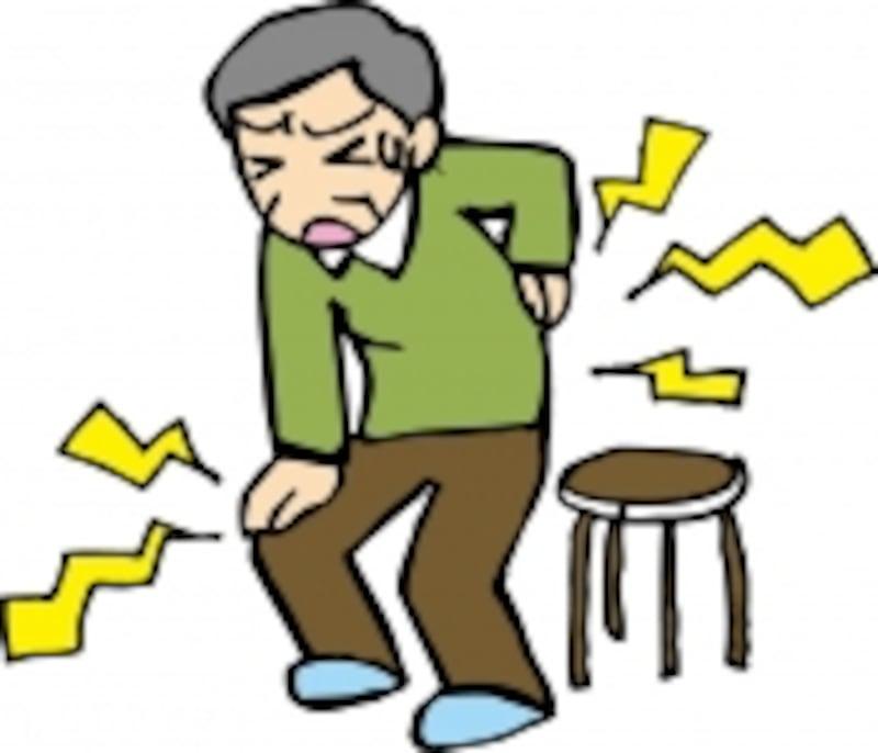 簡単な日常動作すら痛みのためにできず、腰の大切さを痛感した、という声も上がっています