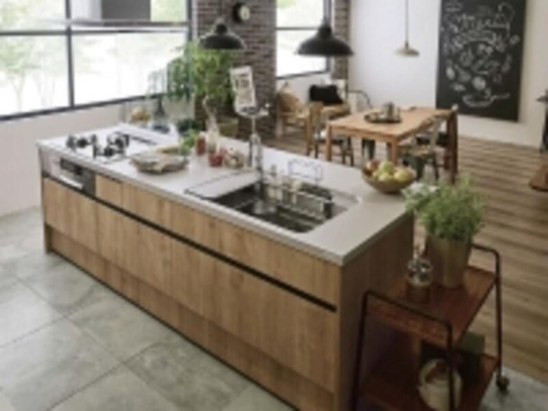 アイランド型キッチン
