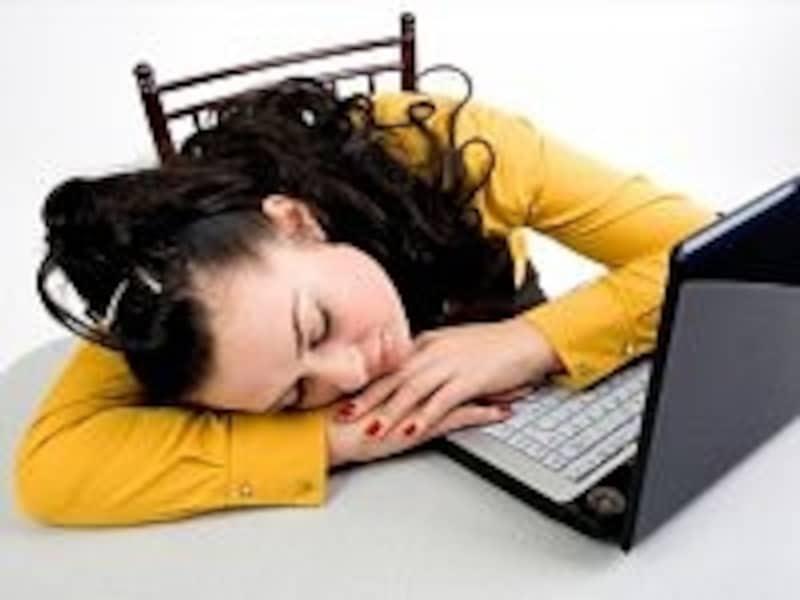 大事な場面で強い眠気に襲われる人は、要注意!