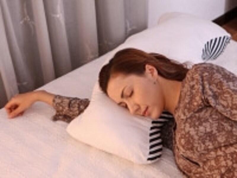 寝る姿勢によって、睡眠の質が変わります