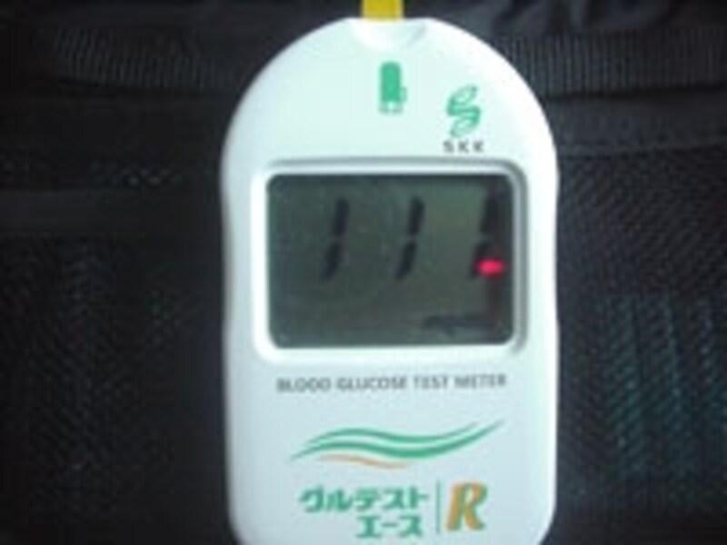 HbA1cは過去1~2ヵ月の平均血糖値を表します。