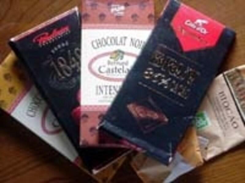 チョコレートはカカオマス70%以上のものを召し上がれ。