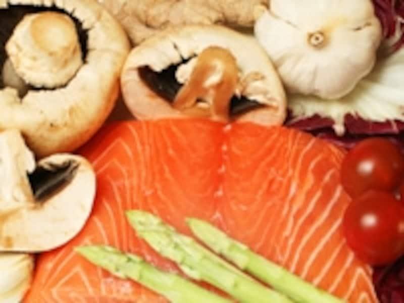 魚とキノコに多く含まれるビタミンD。喉の粘膜の免疫力を強める効果は?