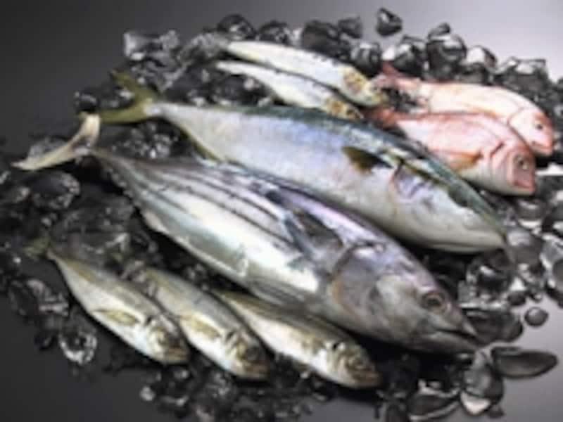 ビタミンDを多く含む食材…魚です。カルシウムも一緒に取ります