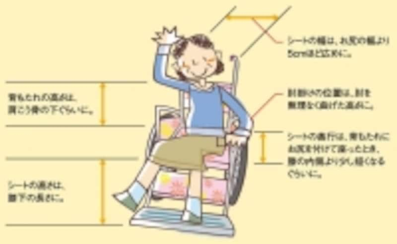 実際に試乗して、身体に合った車いすを選びましょう