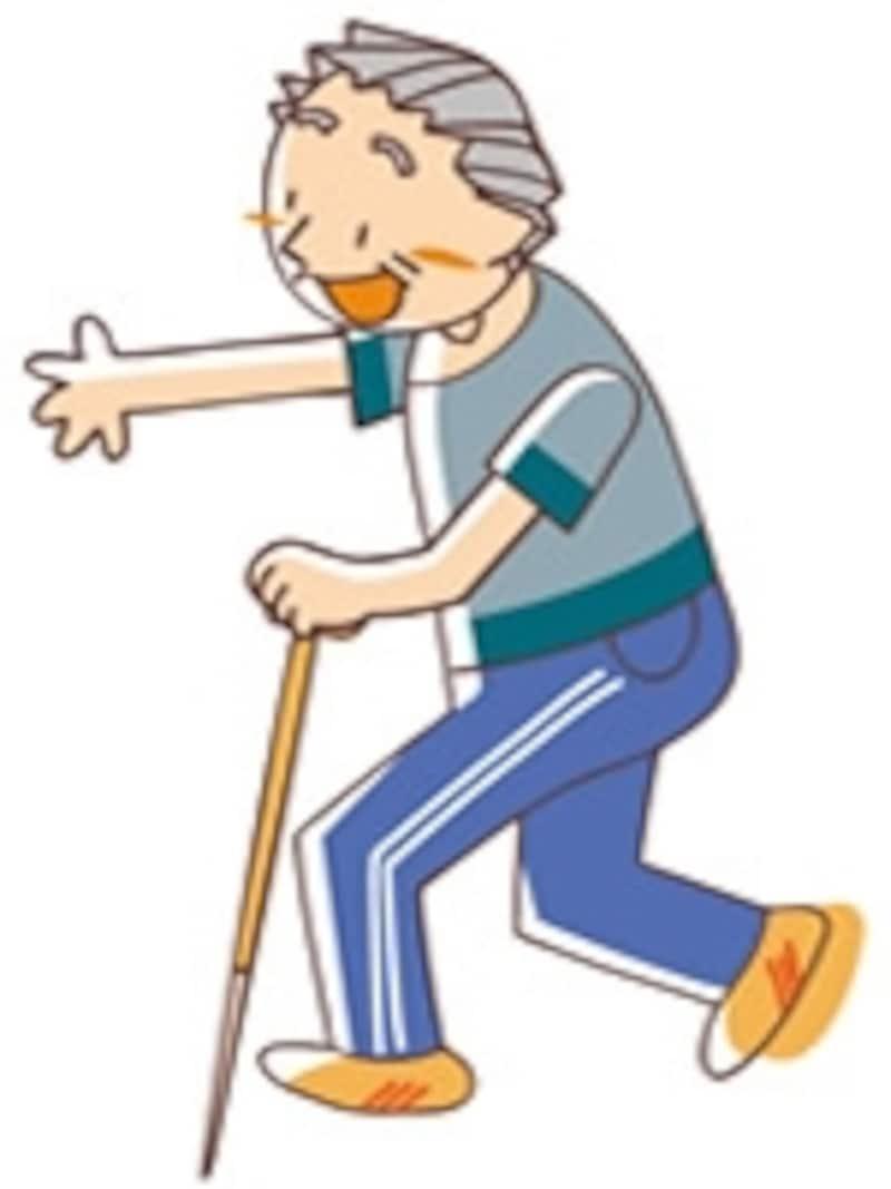 歩く力を失わないためにも、歩行補助杖の利用は有効です