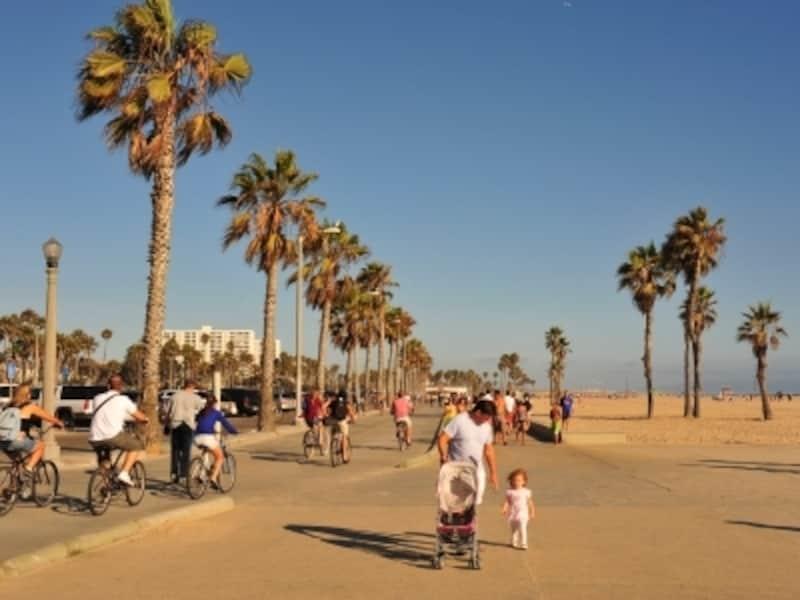 ロサンゼルスと言えば、青空、海、パームツリー、