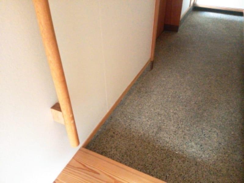 和の雰囲気も感じる、玉砂利洗い出しで仕上げた床。undefined※写真はイメージ
