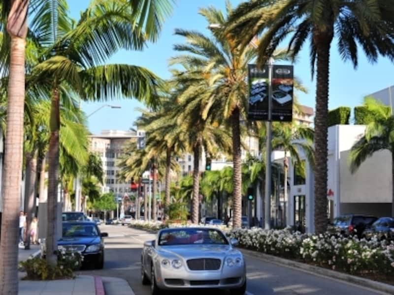 高級ショッピングストリート、ロデオドライブ