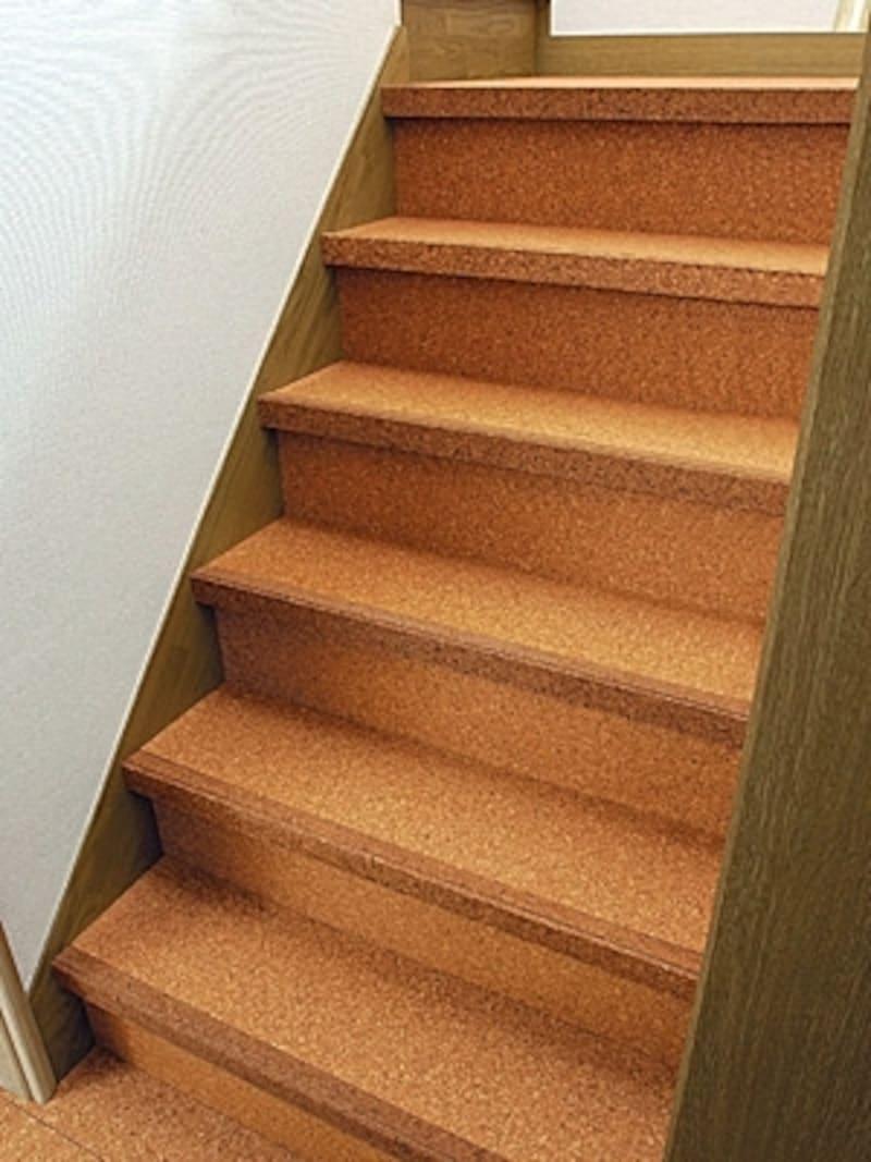 コルクの階段材