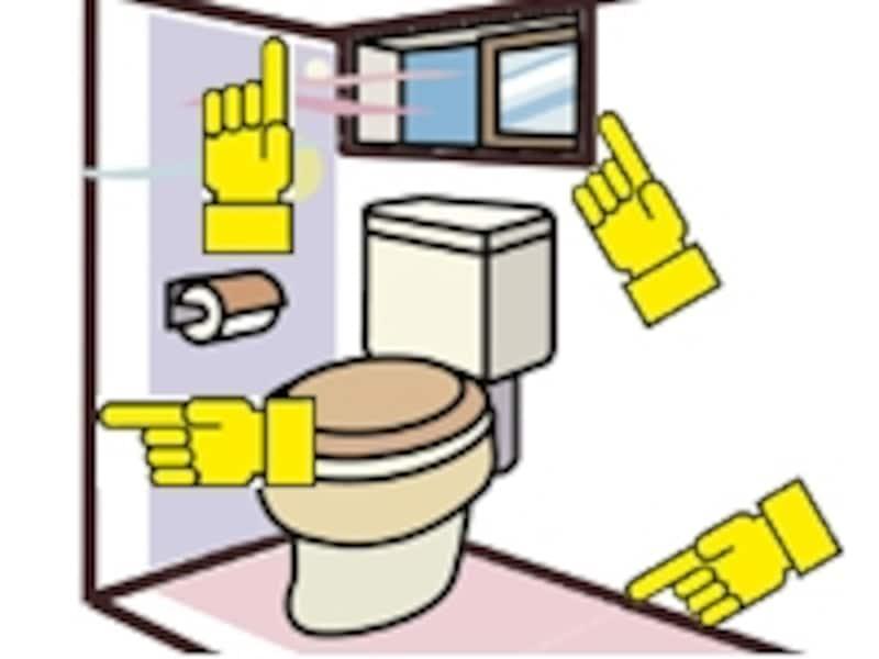 トイレの枠まわり塗装工事¥30,000。どの枠を塗るのか実際に確認しましたか?