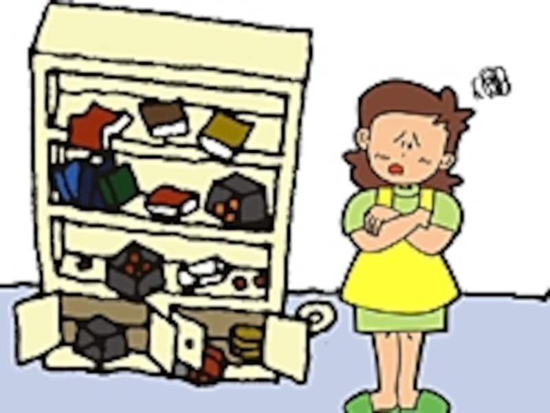 収納リフォームのトラブル事例編です。トラブルの原因をしっかりチェックしておきましょう。