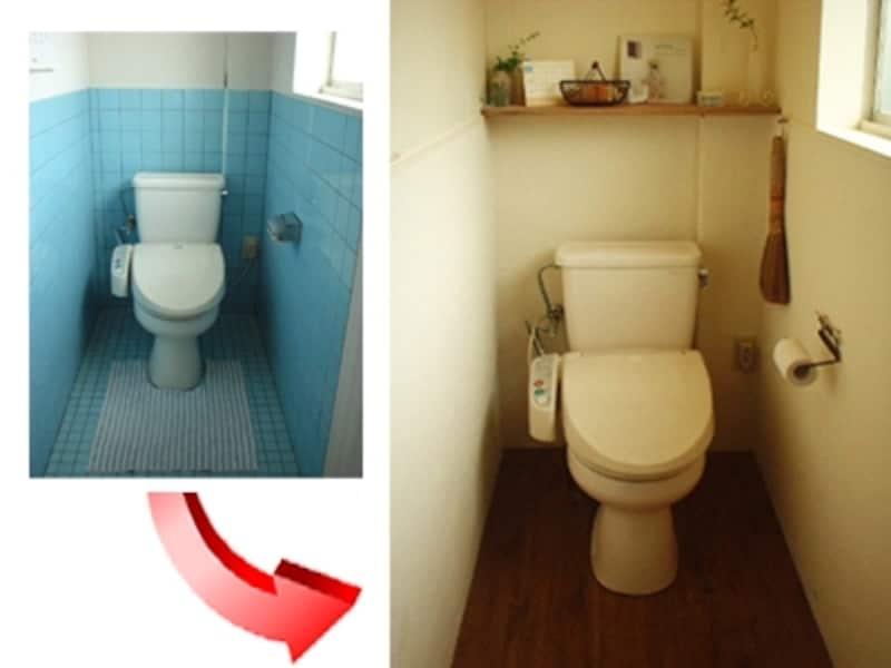 ビンテージ風トイレ