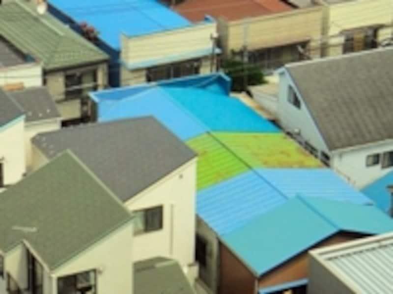 家を守る大事な屋根は必ず定期点検を。防水のやりかえリフォームも防水の保証が切れてからのやり直しでは一歩遅い。