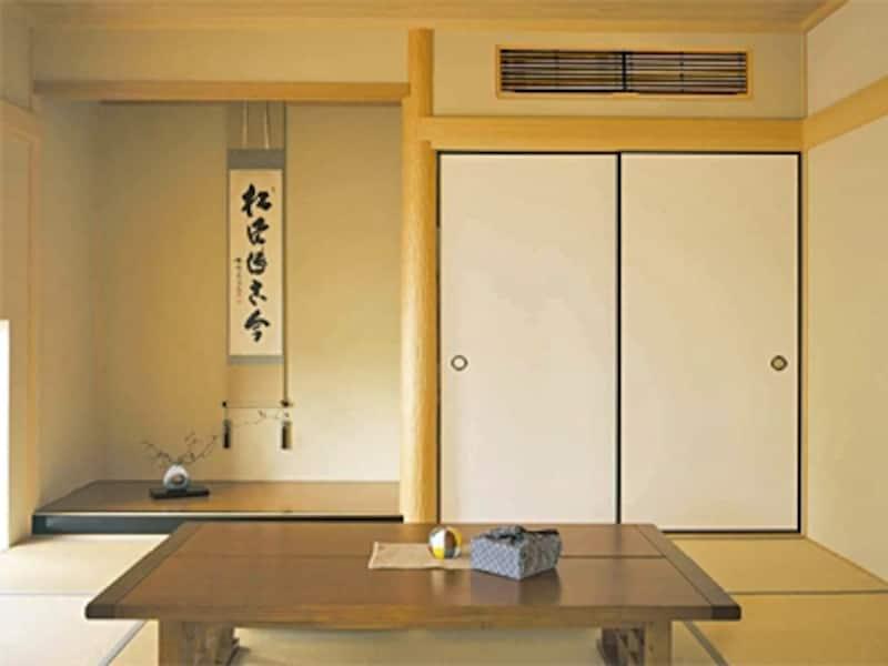 インテリア性にこだわりたい部屋には壁埋め込みエアコンが向いている[壁埋込型エアコン/ダイキン]