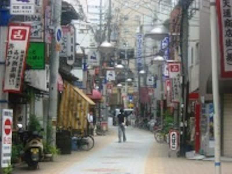 福島聖天通商店街