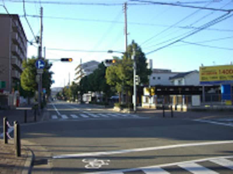 JR「尼崎」駅南側