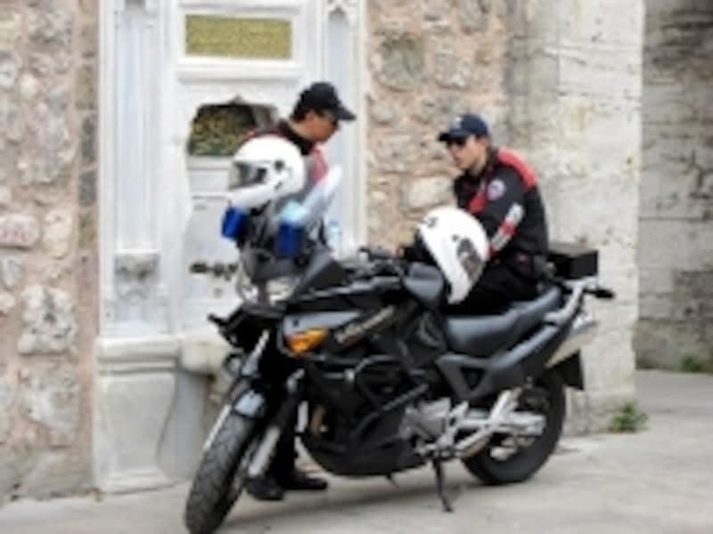 トルコの警官