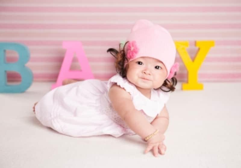女の子の場合、原始卵胞が早くも作られてます