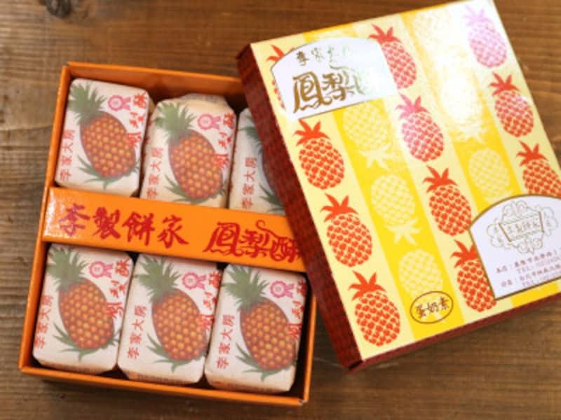 台北のパイナップルケーキ