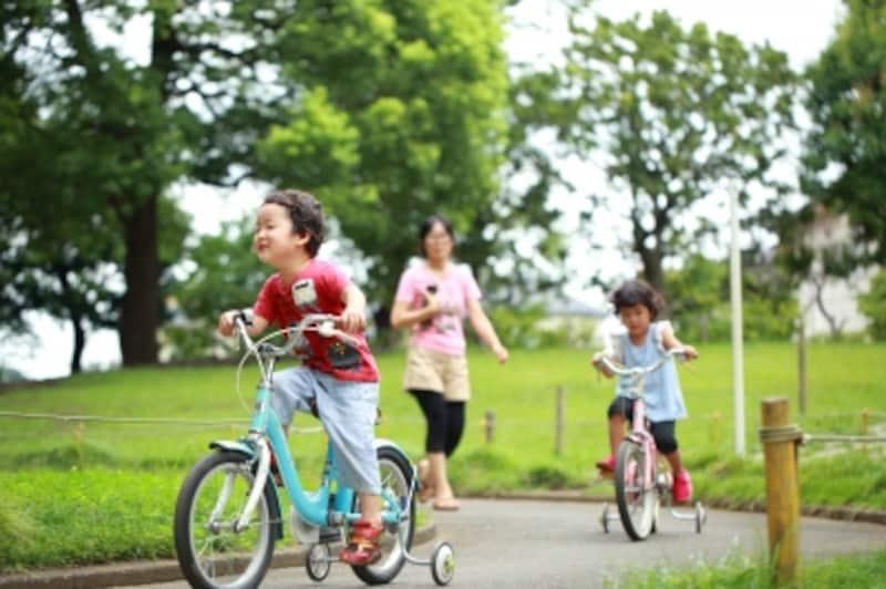 補助輪付き自転車の選び方
