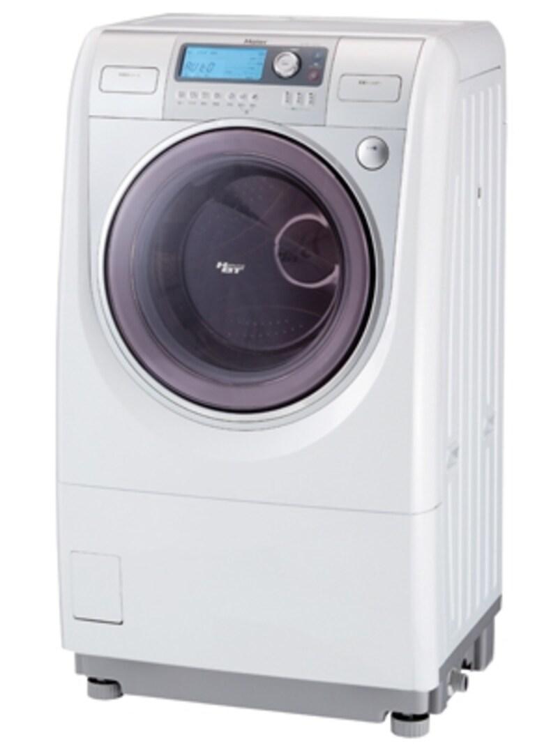ハイアールドラム式洗濯乾燥機ふとんラクラクドラム