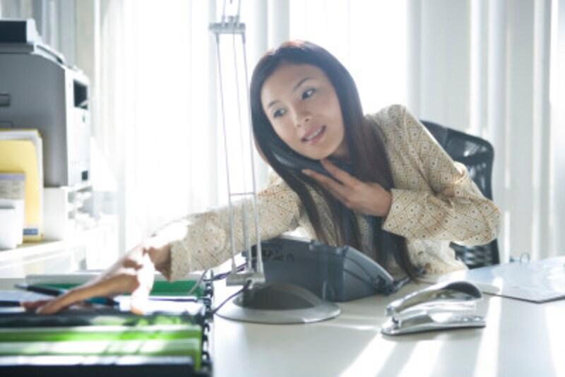 さまざまな判断が瞬時に求められる電話応対も、経験を積むうちに、どんどん対応力が身についていくもの。