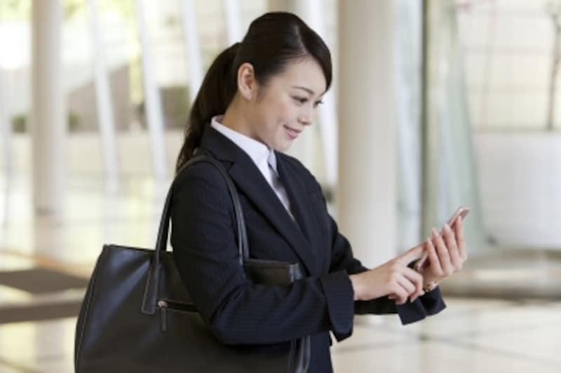 携帯は便利であるが、相手への配慮を忘れない