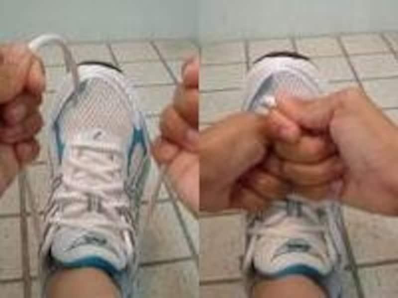靴紐の結び方