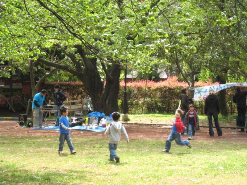 世田谷公園の子どもたち