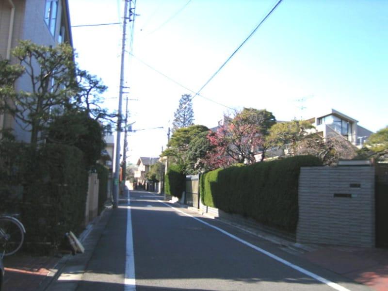 世田谷線沿いの住宅街