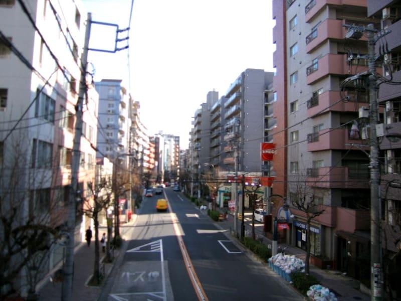 世田谷通り沿い