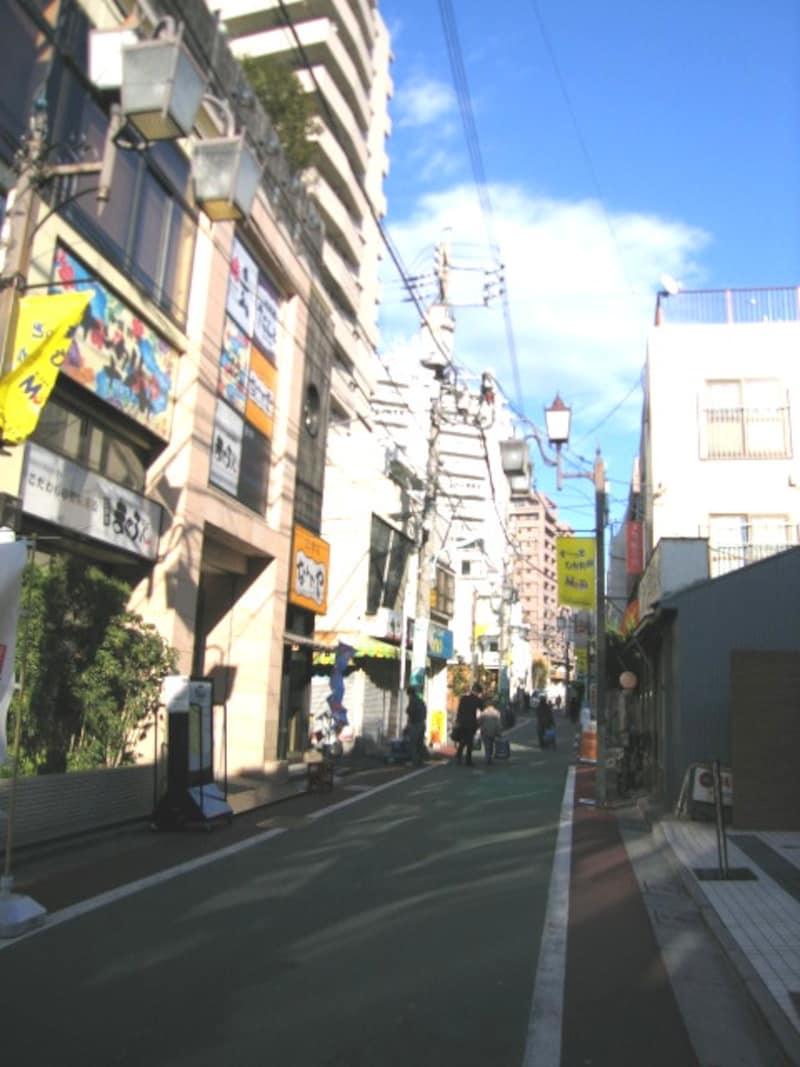 下高井戸の通り