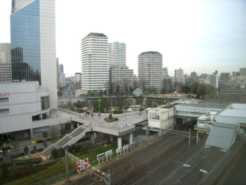 東口側から見る川口駅