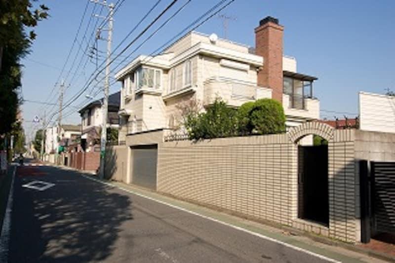 浜田山の住宅街
