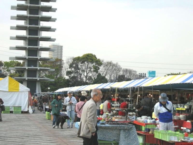 駒沢公園の陶器市