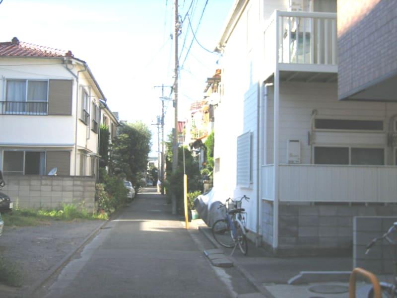 新川崎周辺の住宅街