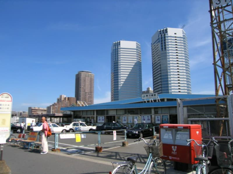 横須賀線新川崎駅