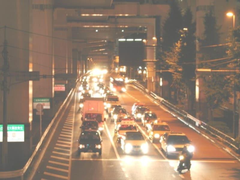 深夜のタクシー利用