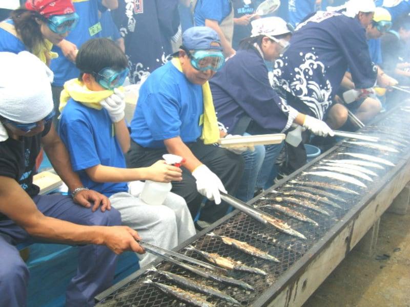 目黒のさんま祭り