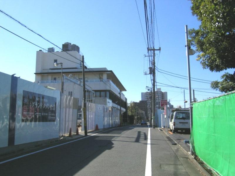 松涛の工事現場