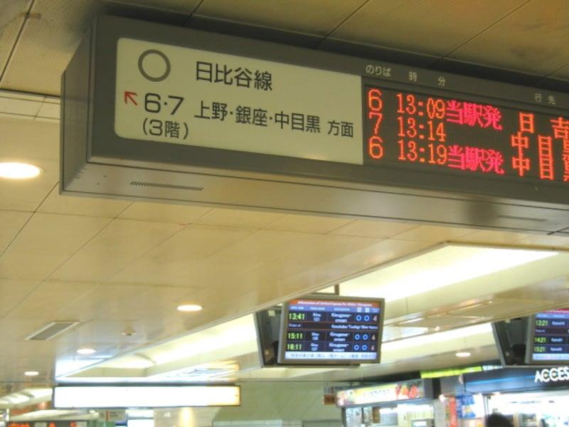 北千住駅構内