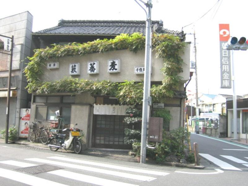 千住柳町にある藪蕎麦