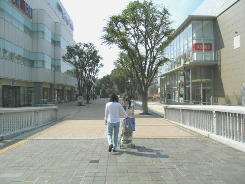 ショッピングセンタークレオ周辺