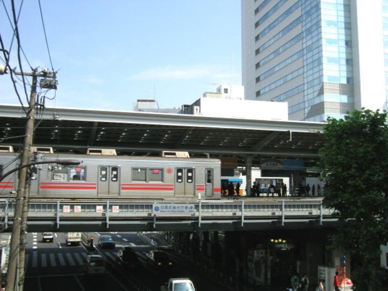 東急東横線とGTタワー