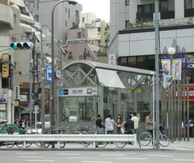 地下鉄麻布十番駅